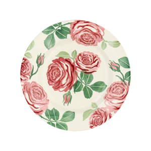 8½ Plate Pink Roses