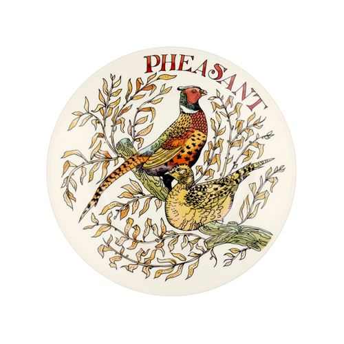 8½ Plate Game Birds