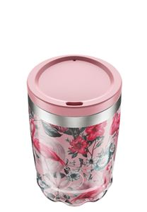 Chilly's Coffee Cup 340ml Flamingo