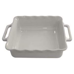 Stackable Square Baking 31 cm Med. Grey