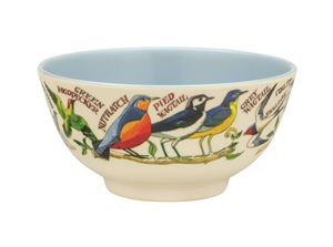 Melamine Bowl Birds