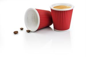 Espresso Cups 10cl Dark Red
