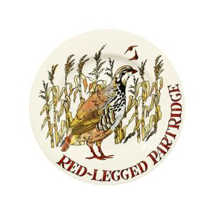 8½ Plate Red Legged Partridge