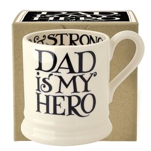 ½ pt Mug Black Toast Dad