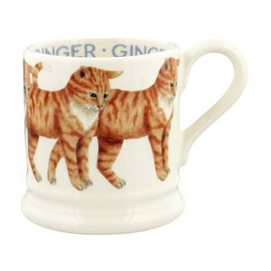 ½ pt Mug Ginger Cat