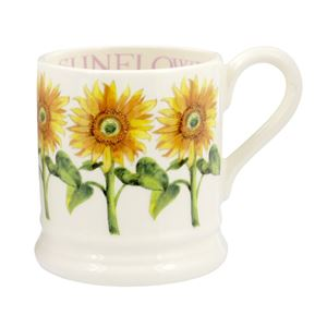 ½ pt Mug Sunflower
