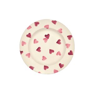 6½ Plate Pink Hearts