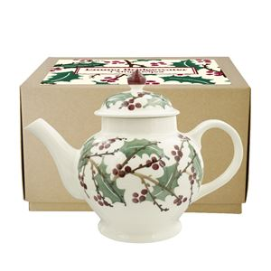 4 Mug Teapot Winterberry