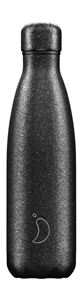 Chilly's Bottle 500ml Black Glitter
