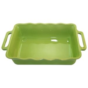 Stackable Rect. Baking Dish 34cm Lime