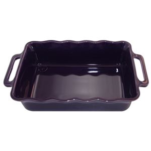 Stackable Rect. Baking Dish 34cm Aubergi