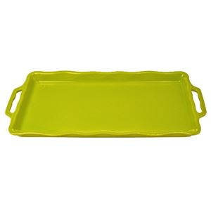 Cake Plate 41 cm Lime