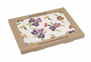 Set of 4 Placemats Wallflower