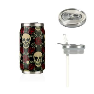Pull Can'it 280 ml Rose & Skull