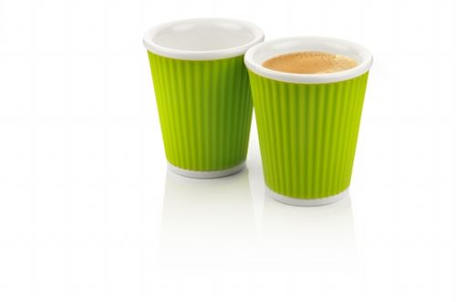 Coffee Cups 18cl Light Green