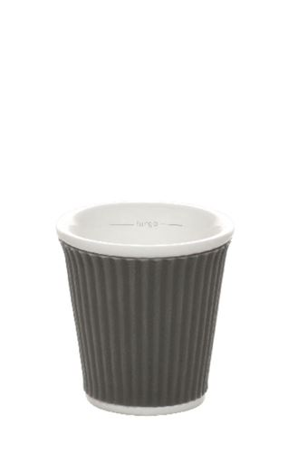 Coffee Cups 8cl Dark Grey